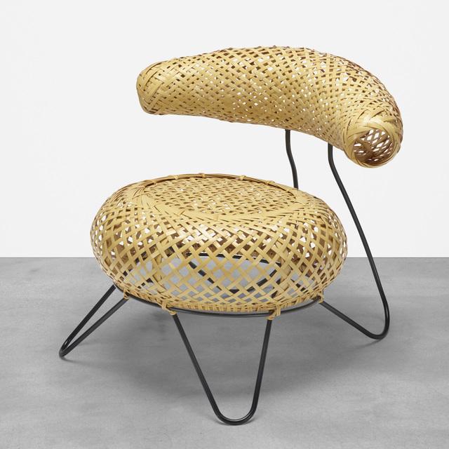 Isamu Noguchi, 'Bamboo Basket Chair', 1950, Design/Decorative Art, Shioju wood, bamboo, iron, Rago/Wright