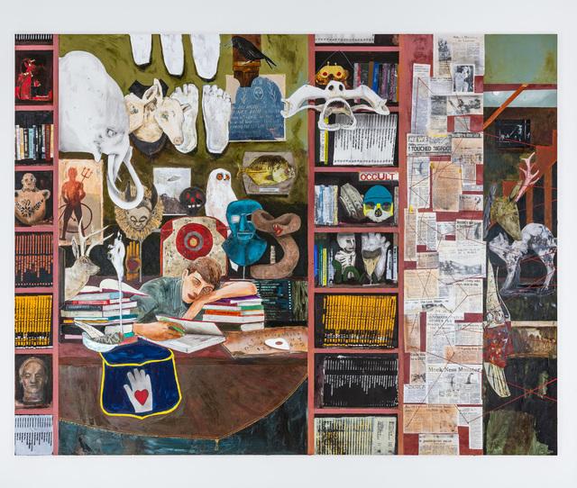 , 'Occult enthusiast,' 2019, Lehmann Maupin
