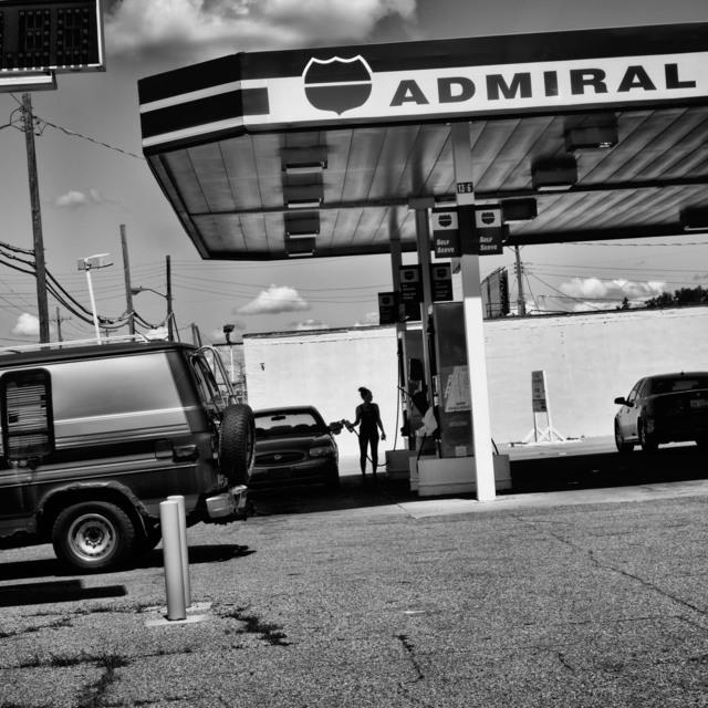, 'Gas station, Flint, Michigan, 2015,' 2015, Magnum Photos