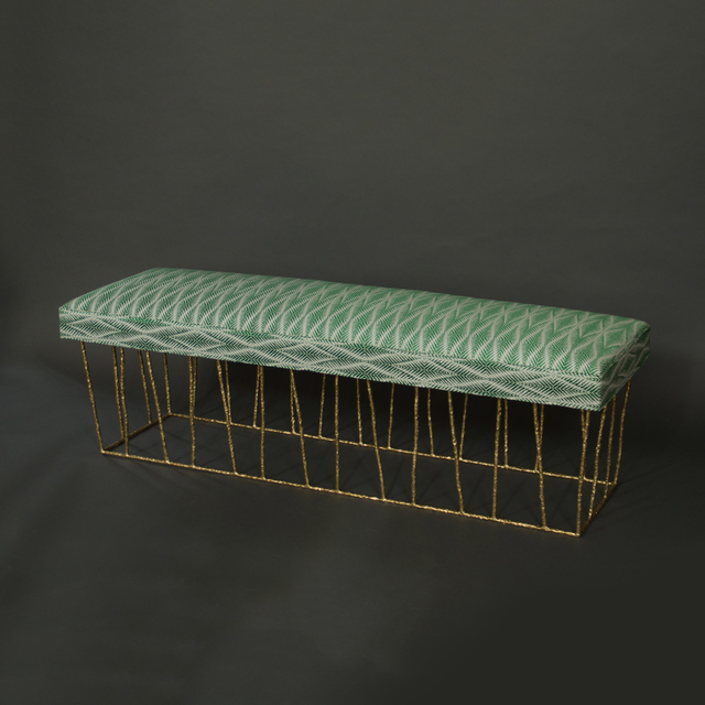 Anne and Vincent Corbiere, 'Cage Bench', 2014, Twenty First Gallery