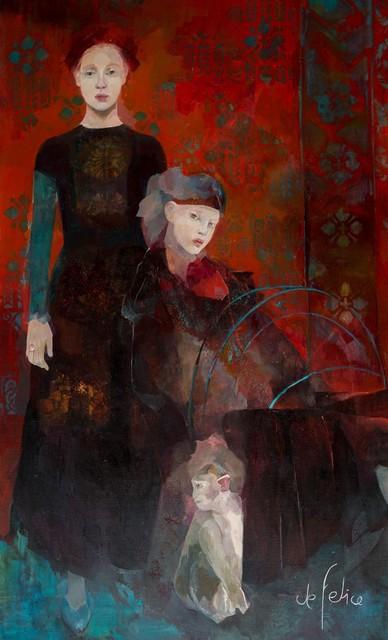 , 'Les rêveuses (the dreamers),' 2015, Galerie Calderone