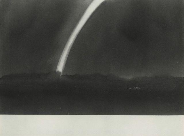 , 'Rainbow near Hadley, Massachusetts (from 100 Views Along the Road),' 1983, Bruce Silverstein Gallery