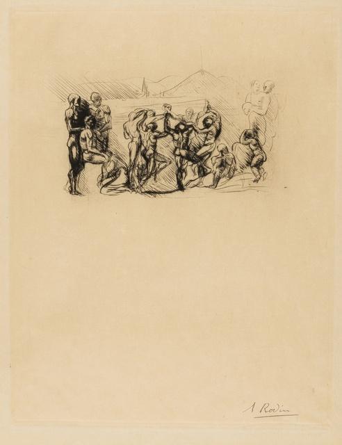 Auguste Rodin, 'La Ronde (Thorson 5 ii/iii)', 1883-84, Forum Auctions