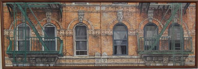 , 'Six Windows - 98 Saint Marks Place,' 2017, Carrie Haddad Gallery