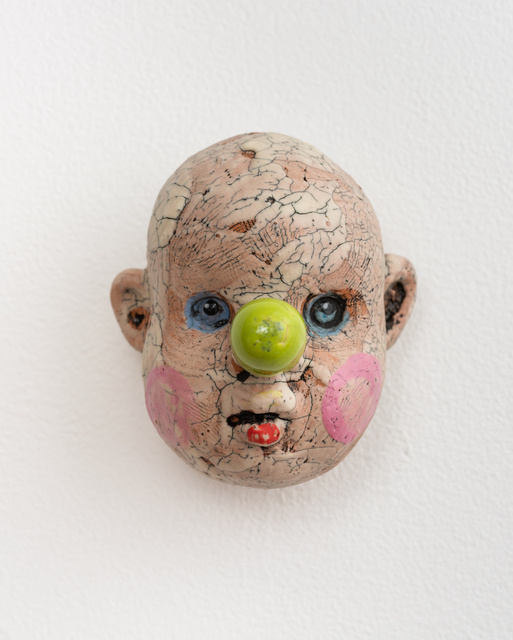 Tom Bartel, 'Medium Doll Head, Lime Green Nose', 2018, Eutectic Gallery