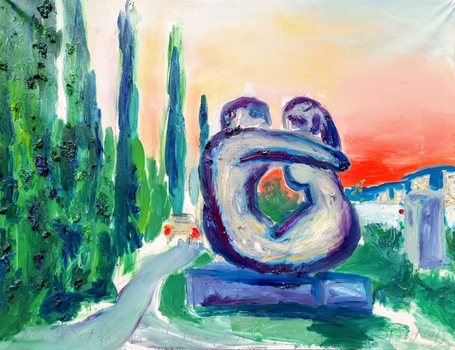 , 'Water series summer 2019 - plein air in situ paintings, Forma Viva, Portorose,' 2019, Noravision Gallery