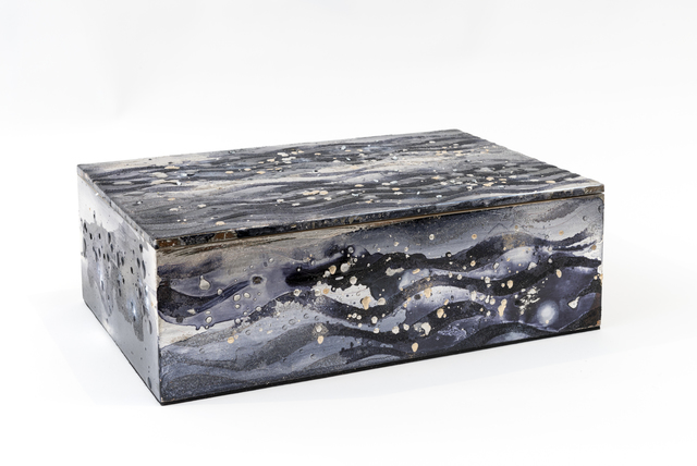 , 'Untitled Silver and Moon Gold Box,' 2016, Pierre Marie Giraud