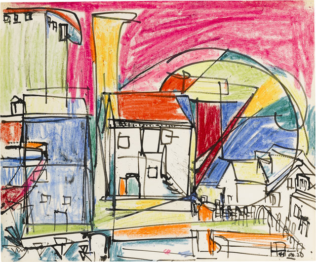 Hans Hofmann, 'Untitled (Provincetown)', 1941, Sigrid Freundorfer Fine Art