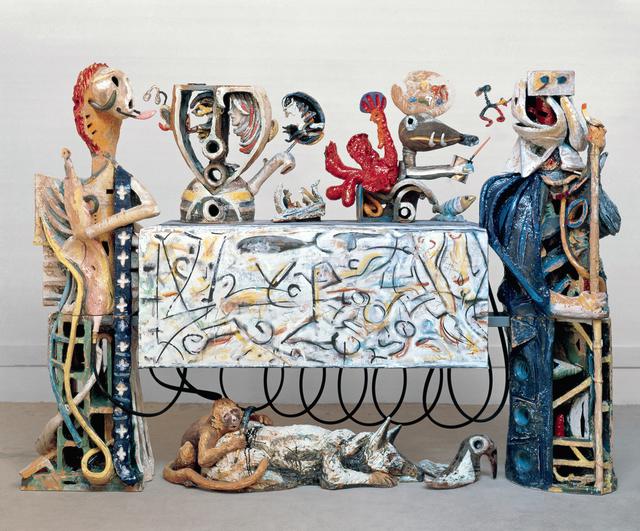 , 'Guardians of the Secret II,' 1989-1990, Brian Gross Fine Art