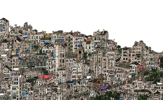 , 'London Favela,' 2014, DECORAZONgallery