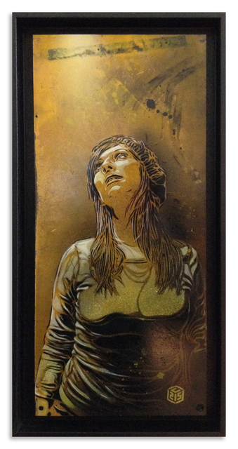 C215, 'Looking Up', 2014, StolenSpace Gallery