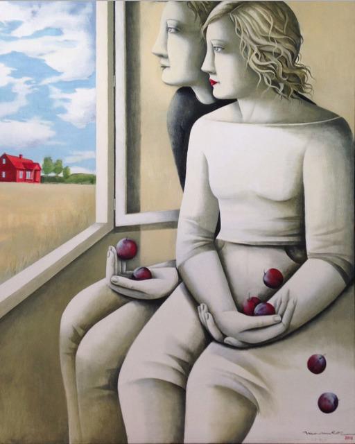 , 'Red House,' 2016, Flecha