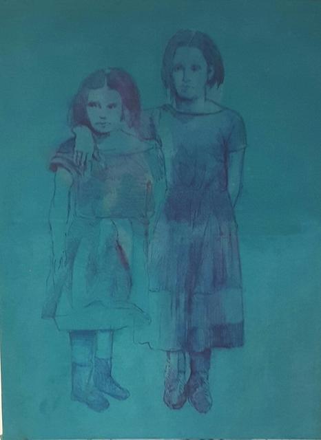 , 'Two Children,' 2015, Galerie Brigitte Schenk