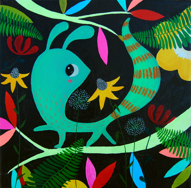 , 'Ubuntu in the Forest I,' 2013, Barnadas Huang