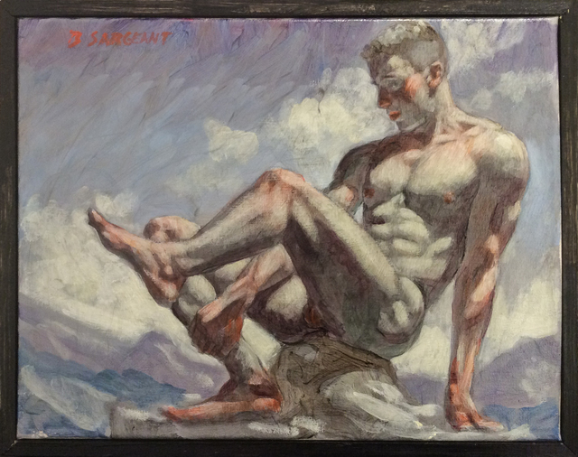 , 'Nude Man on Rock,' , Carrie Haddad Gallery