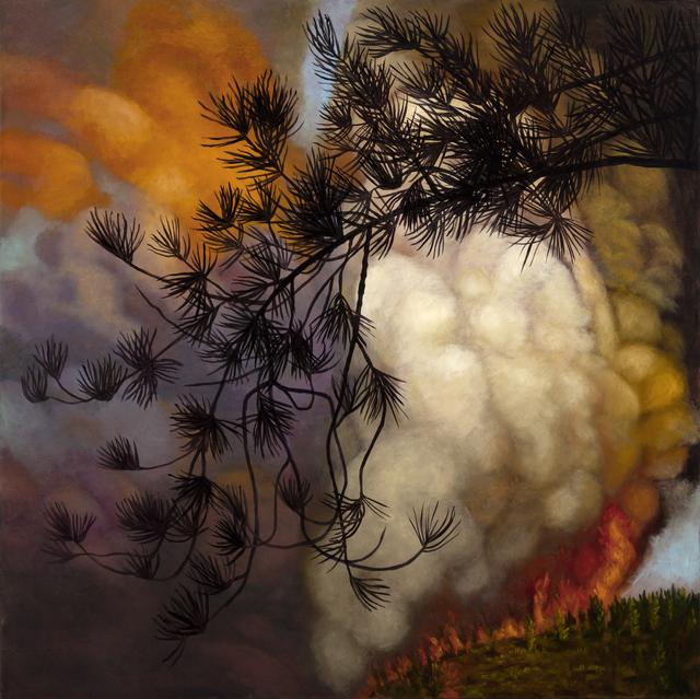 , 'FIRE,' 2018, InLiquid