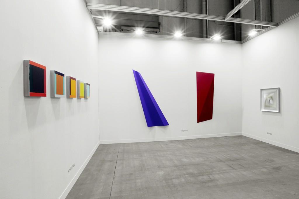 Imi Knoebel, Wolfram Ullrich, Alberto Biasi. Cortesy Dep Art Gallery photo by Bruno Bani