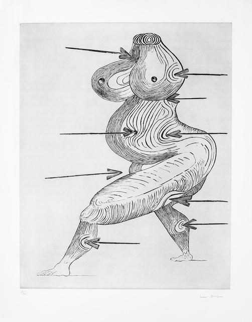 , 'Sainte Sébastienne,' 1992, Galerie Lelong & Co.