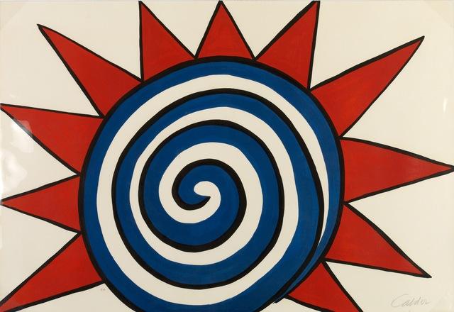 , 'Spiral Sun,' 1975, Galerie Philippe David