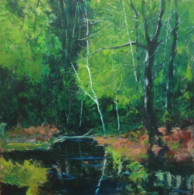 , 'Summer on Sweetwater Creek,' 2018, Shain Gallery