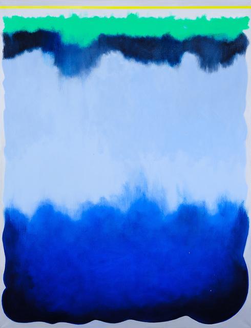 , 'Dive, Deep Blue,' 2018, Charles Nodrum Gallery