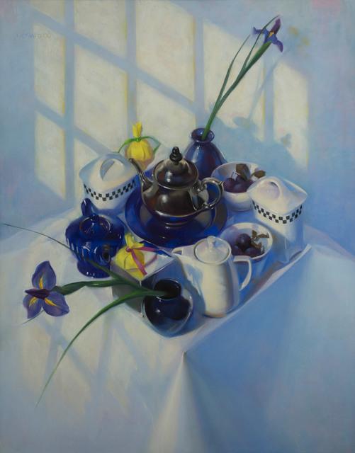 , 'Iris and Sunlight,' 2000, Vose Galleries