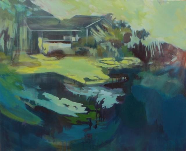 , 'Motif dans la lagune,' 2016, Virginie Barrou Planquart