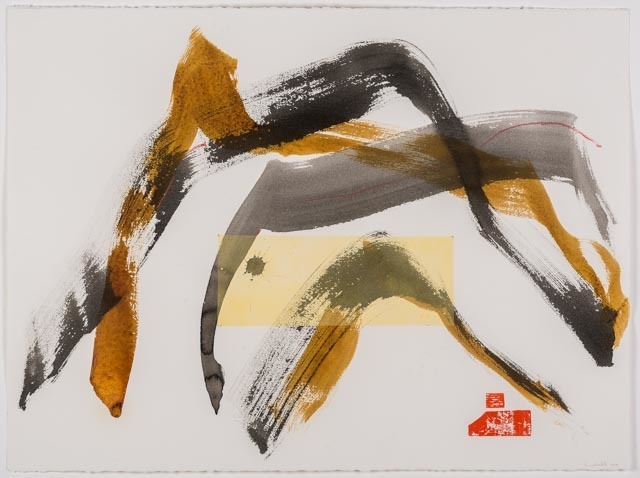 , 'Charcoal Dance,' 2013, Joshua Tree Art Gallery