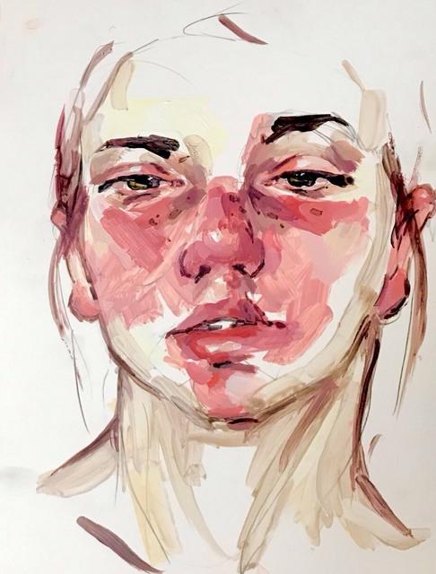 , 'Self Portrait,' 2017, GALERIE BENJAMIN ECK