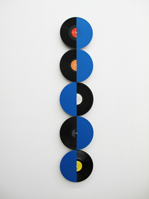 , 'Colorful discs (blue),' 2012, 3+1 Arte Contemporânea