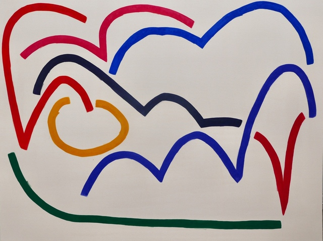 , 'Untitled (4.29),' 2018, The Dot Project