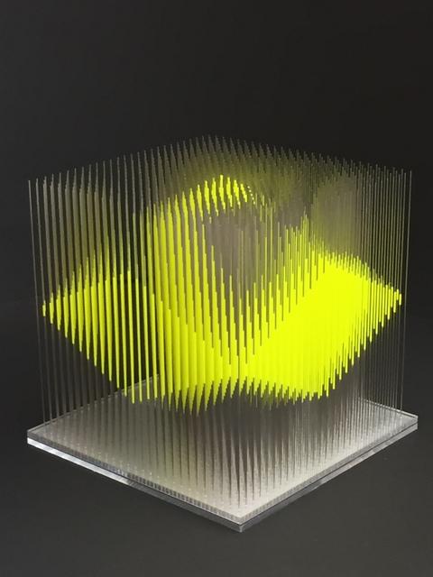 , 'Gelbe Arbeit,' 2017, Joerg Heitsch Gallery