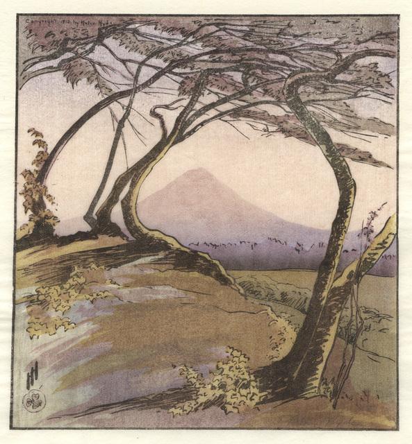 , 'Mount Orizaba,' 1912, Conrad R. Graeber Fine Art