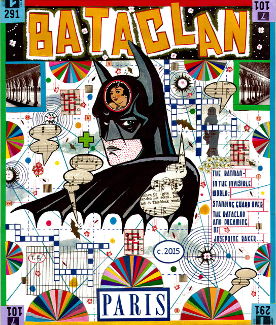 , 'Bataclan - The Batman In The Invisible World,' 2015, Frederick Holmes and Company