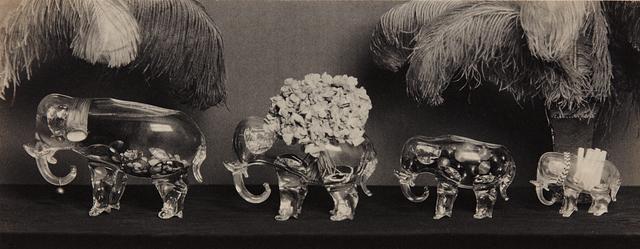 Paul Outerbridge, 'Four Glass Elephants', 1924, Phillips