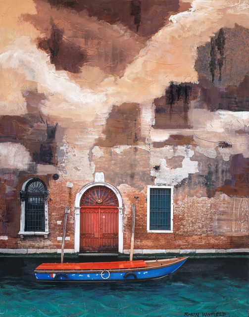 , 'Venetian Dock to Door,' 2018, Rice Polak Gallery