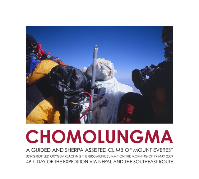 , 'Chomolungma (summit photograph) ,' 2009, Häusler Contemporary