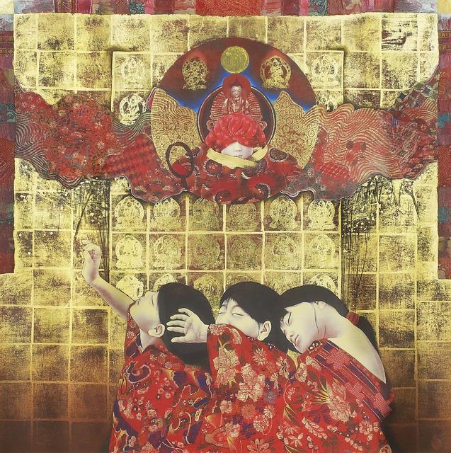 Kyosuke Tchinai, 'Descent of Vairocana', 1985-1995, Shukado Gallery