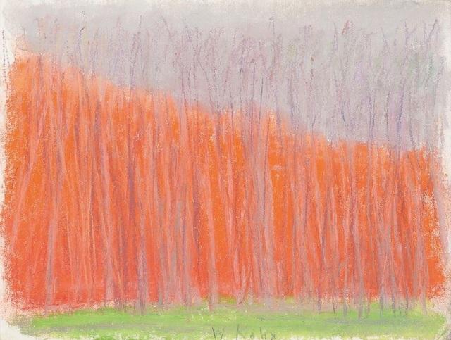 Wolf Kahn, 'Red Diagonal', 2006, Cavalier Ebanks Galleries