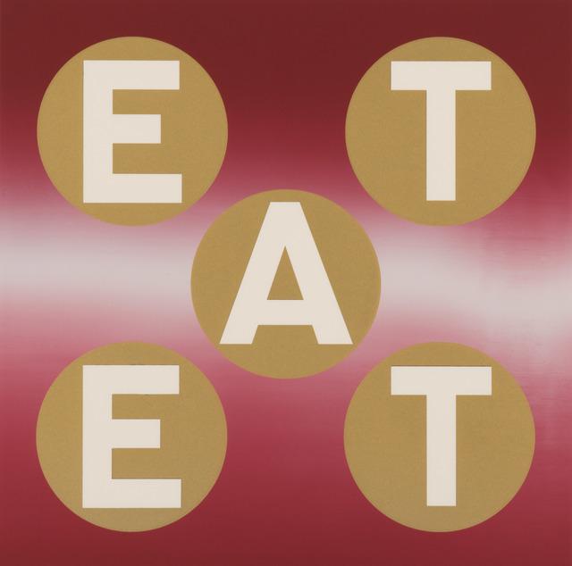 , 'EAT II (Crimson Gold) ,' 2011, Contini Art UK