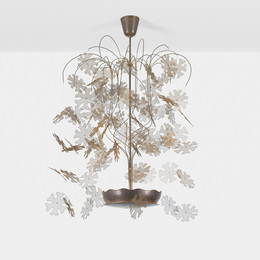 Paavo Tynell, 'Rare and Exceptional chandelier,' c. 1950, Wright: Design Masterworks