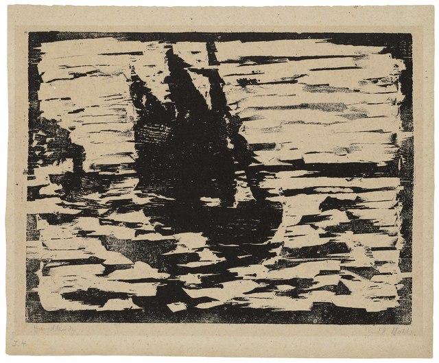 , 'Segelboot (Sailboat),' 1910, Alice Adam Ltd.