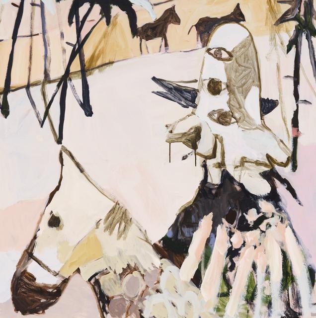 Mie Olise Kjærgaard, 'Horseman', 2018, Hans Alf Gallery