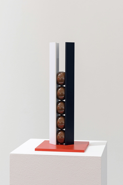 , 'White, Black, Brown and Red,' 2015, Flowers