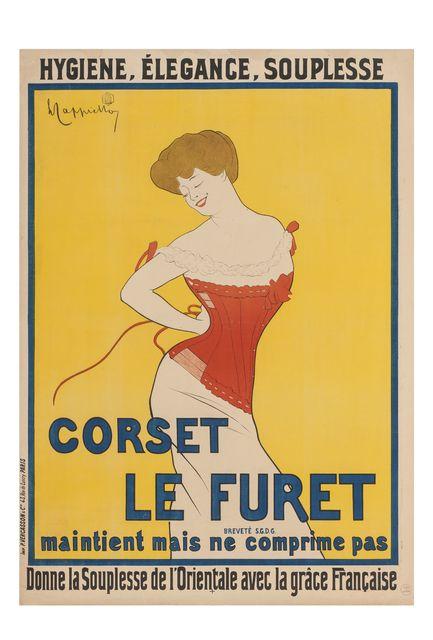 , 'Corset Le Furet ,' 1901, Les Arts Décoratifs