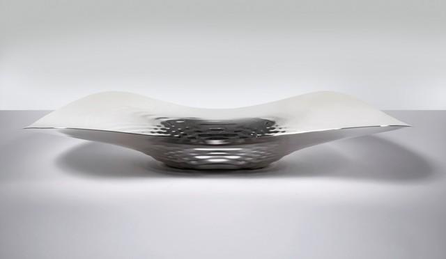 Zaha Hadid, 'Centrepiece 'Sterling Silver Liquid Glacial'', 2016, David Gill Gallery