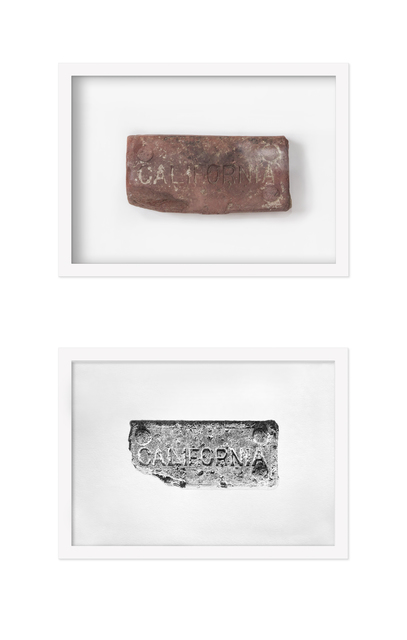 , 'Found Object #9 (Brick),' 2017, Hashimoto Contemporary