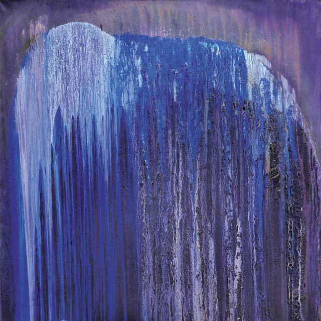 , 'Torn Blue-Violet,' 2018-2019, Galerie Bei Der Albertina Zetter