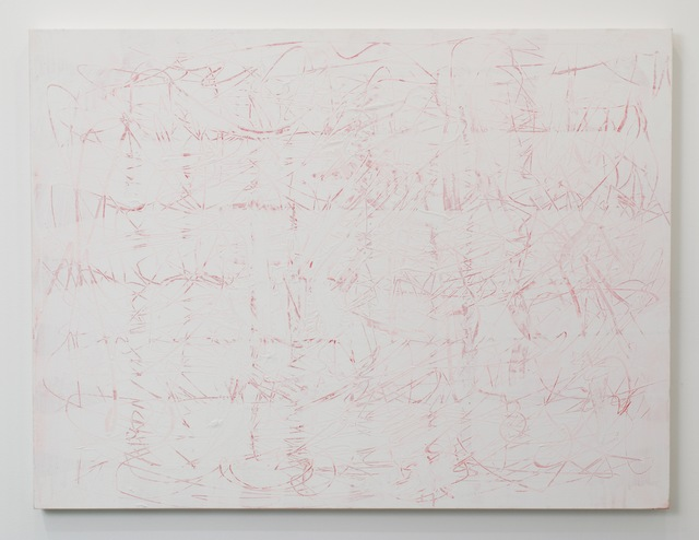 , 'Pink Scratch Painting,' 2014, MARQUEE PROJECTS