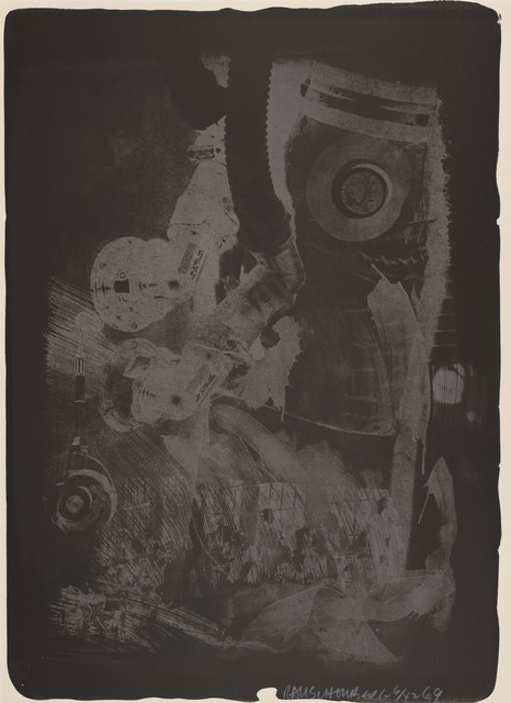 Robert Rauschenberg, 'Earth Crust (Stoned Moon)', 1969, San Francisco Museum of Modern Art (SFMOMA)